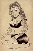 PIN UP COMMISSION by CaziTena