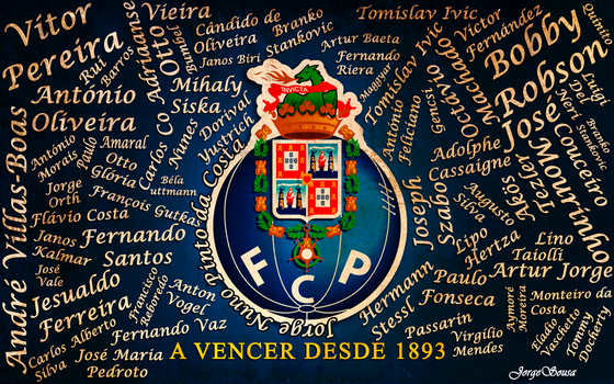Wallpaper FC Porto by jsousa10