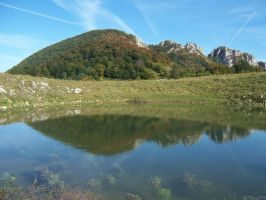 Mirrored mountain by Thor899