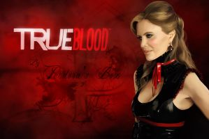 Pam painting - True Blood by pendorabox