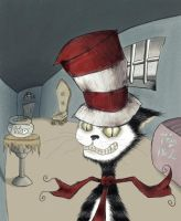 Grim Classics: Dr. Seuss's The Cat In The Hat by Jefferson-Apgar