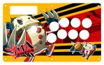 P4A Custom Fightstick-Teddie by ss2sonic
