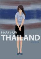 pray for Thailand by poperart
