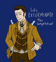 Dalek Business Suit by ritornel