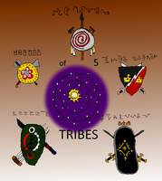of 5 TRIBES tittle by Yumaboy1814