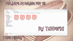 Tema Iconpackager Mikey by TutosPixi