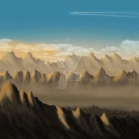 mountains_painting by EpsylonGraph