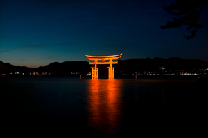 Torii, the gate of Gods by denkyo