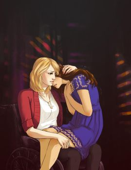 Cry (Faberry) by TrappedinVacancy