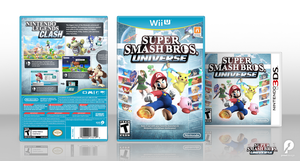 Super Smash Bros. Universe Box Art by preetard