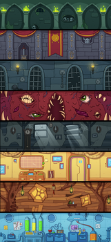 Game backgrounds by irmirx