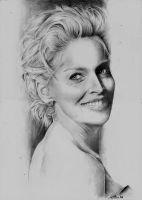 Sharon Stone by CristinaC75