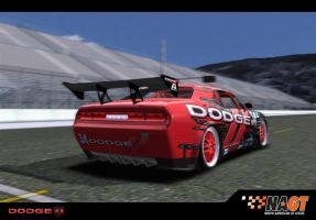 Dodge Challenger GTR in game by MaxEvil3D