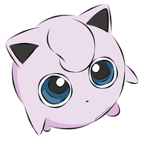 Jigglypuff Coloured by ensnarings