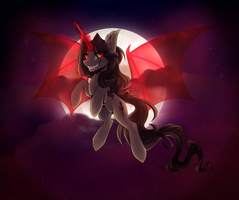 Blood Moon by HarmoniousRain