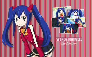Wendy Marvell - Wallpaper by xSatoshi