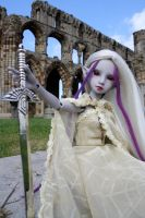 Drisimi at Whitby Abby II by Karla-Chan