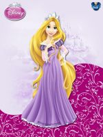 DisneyPrincess - Rapunzel ByGF by GFantasy92