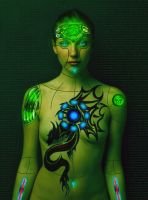 Android Bot (The Female, Fighting, Killing kind) by siddharth-singh