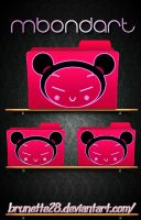 Pucca Folders Png by Brunette28