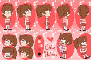Chloe Haimes Reference Sheet by AskChloeGF