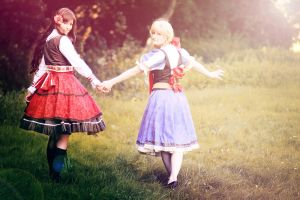 Hetalia: friendship by Amapolchen