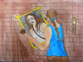 Lara Croft and the Mirror of Realities by BARproductions