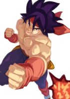 Bardock sketch by Riza23
