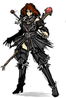 :+:Demonic Mage Knightess:+: by Endless-warr