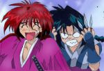 kenshin and misao by LisaFeary