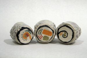 Sushi Cups - Close Up by ladyhawk21