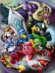 Hisui's Colouring Contest Kirby Entry by TheSym