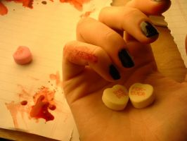 candy heart by bloodred