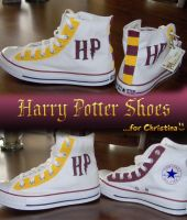Harry Potter shoes by anandama-pandama
