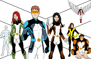 X-MEN Color Reference by JamieFayX