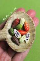 Day 38 - Cocoa Pods / Cabosses de Cacao by PetitPlat
