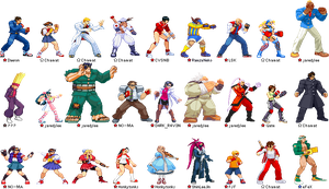 Rival Schools-Roster by Chamat