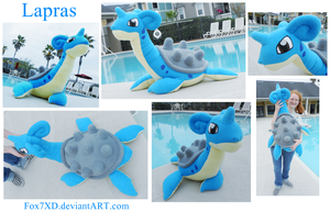 Giant Lapras Plush