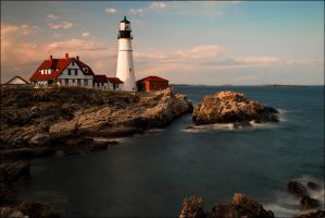 Portland Head Light II by IngoSchobert