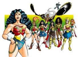 Wonder Women by James-GF