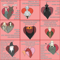 Lord of the Rings Valentines by gabriella-Renae