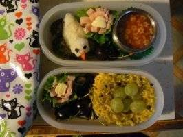2 bird nest bento by myfairygodmother