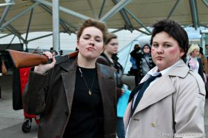 Supernatural - Dean and Castiel by Mother-Of-Moths