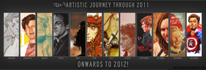 Izu's Artistic Journey - 2011 by thenizu