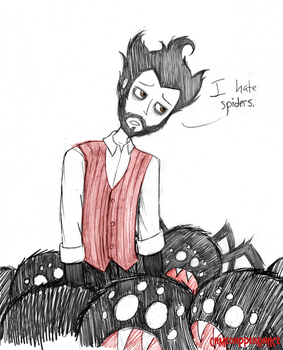 Don't Starve: Spider Mob by CameoAppearance