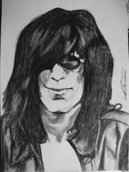 Joey Ramone by KozmicBlues69