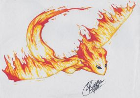 Nevaeh the phoenix by LilliM00