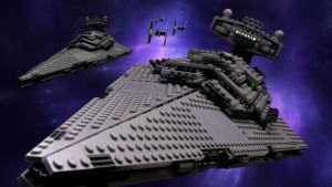 Lego Star Destroyer by SWAT-Strachan