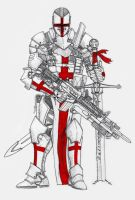Knight Templar by The-SuicideKing