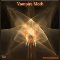 Vampire Moth by Sirfy
